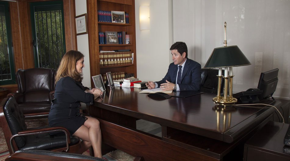 Las caras del despacho de abogados Bufete Sempere Jaén