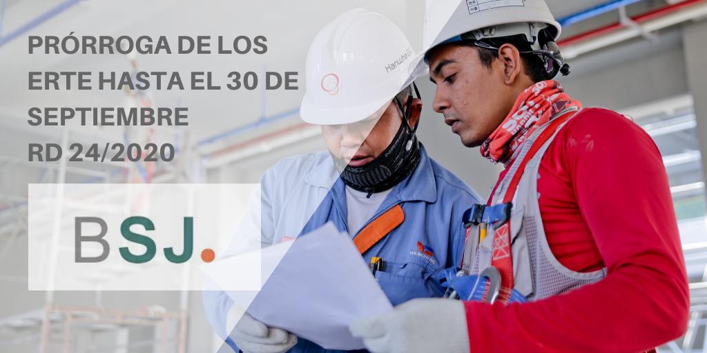 Bufete Sempere Jaén te explica las claves de la prórroga de los ERTE hasta septiembre